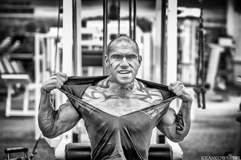bling, szadkowski, niepełnosprawny, siłownia, kulturysta, clipclip, fitnessteam24, diamante wear